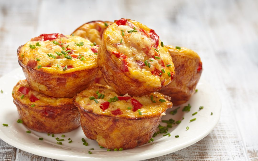 Baked To-Go (or stay) Egg Cups