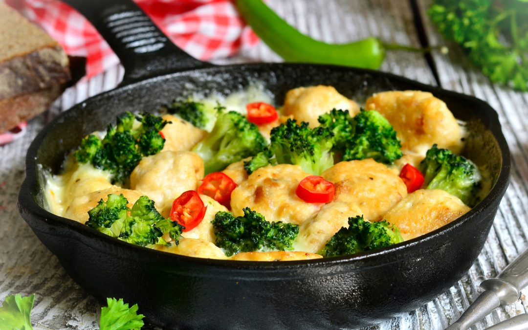 Chicken and Broccoli Dinner